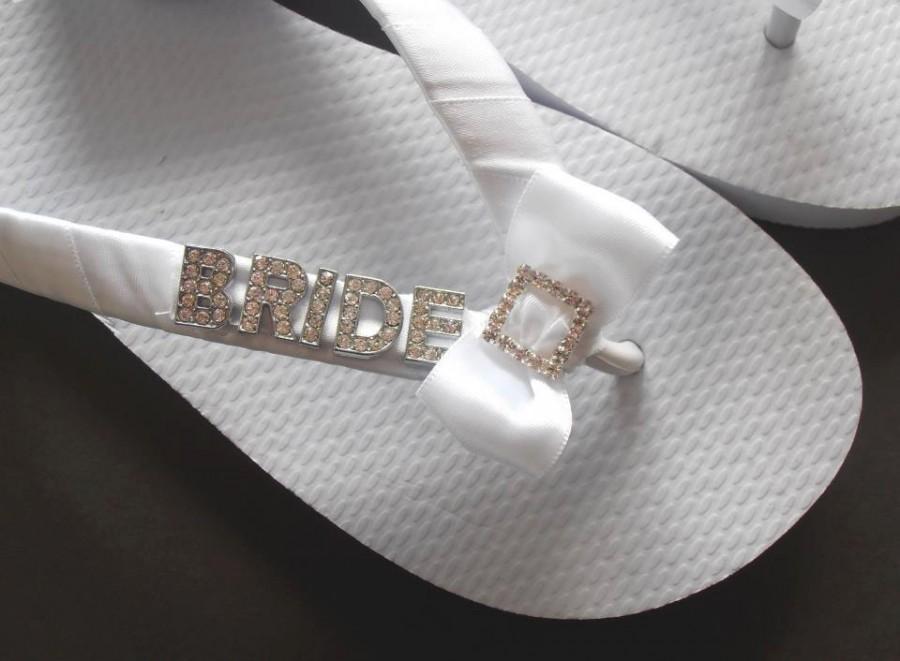 Mariage - BRIDE flip flops
