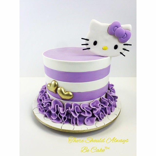 Thereshouldalwaysbecake Hello Kitty Birthday Cake Enjoygram