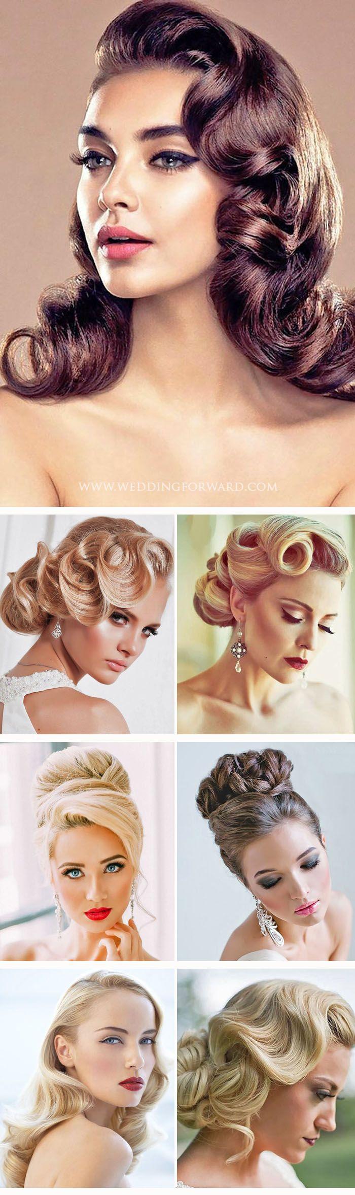 Boda - 27 Utterly Gorgeous Vintage Wedding Hairstyles