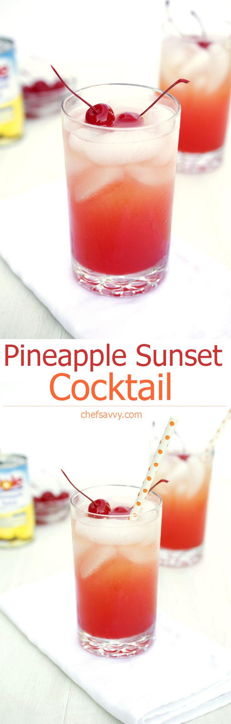 Mariage - Pineapple Sunset