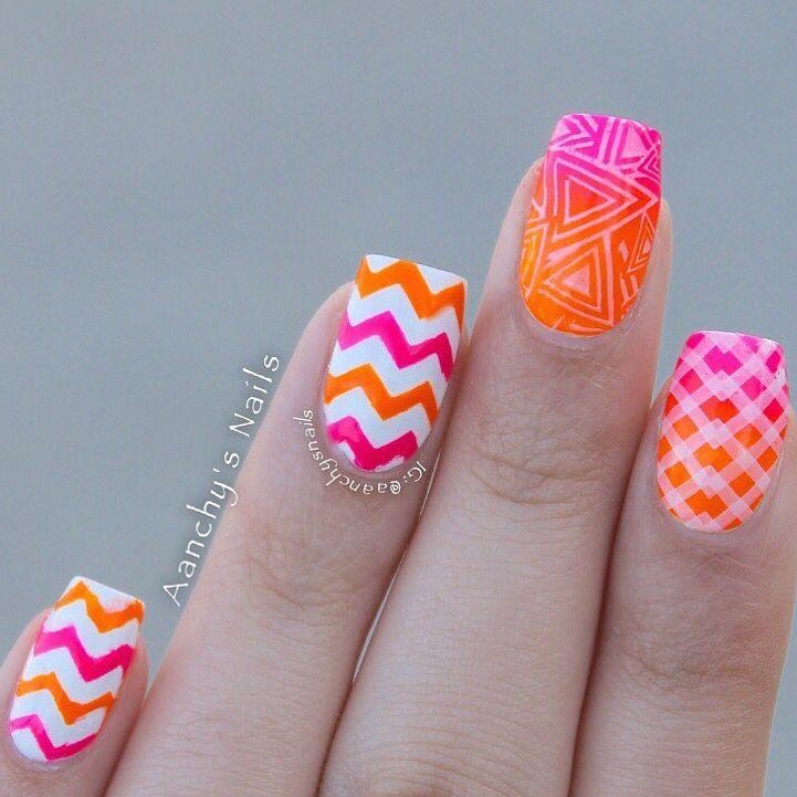 Wedding - Chevron Nail Vinyls