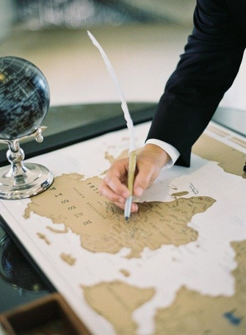 Hochzeit - Unique And Creative Guest Book Ideas For Your Wedding Day