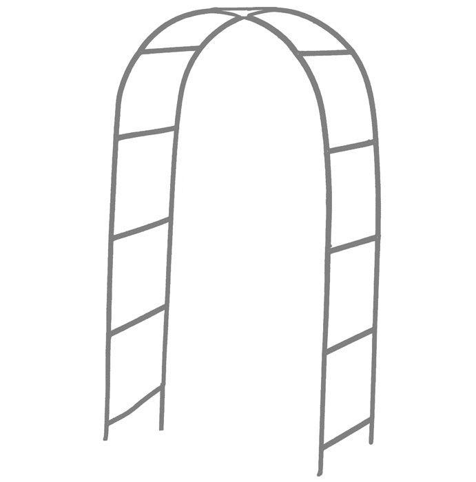 Mariage - Wedding and event metal steel white arch
