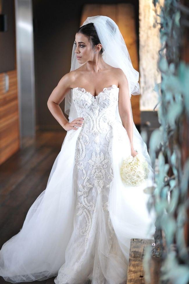 Steven Khalil, Custom Made, Size 6 Wedding Dress #2718117 - Weddbook