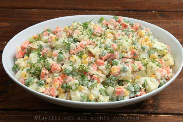 Wedding - Russian (Latin American) Potato Salad: Ensalada Rusa