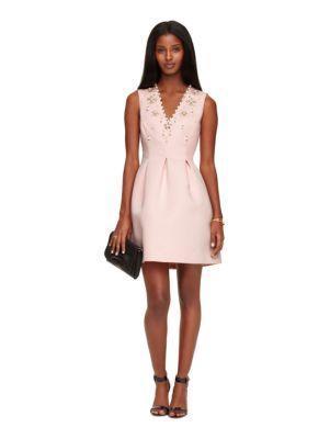 Hochzeit - Embellished Structured Dress