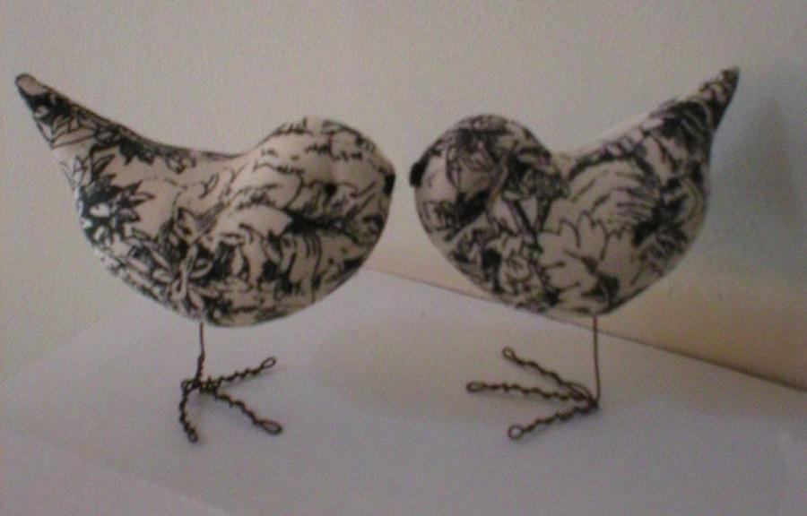 Pr Black Toile Love Birds Wedding Cake Toppers Decorations We Ship