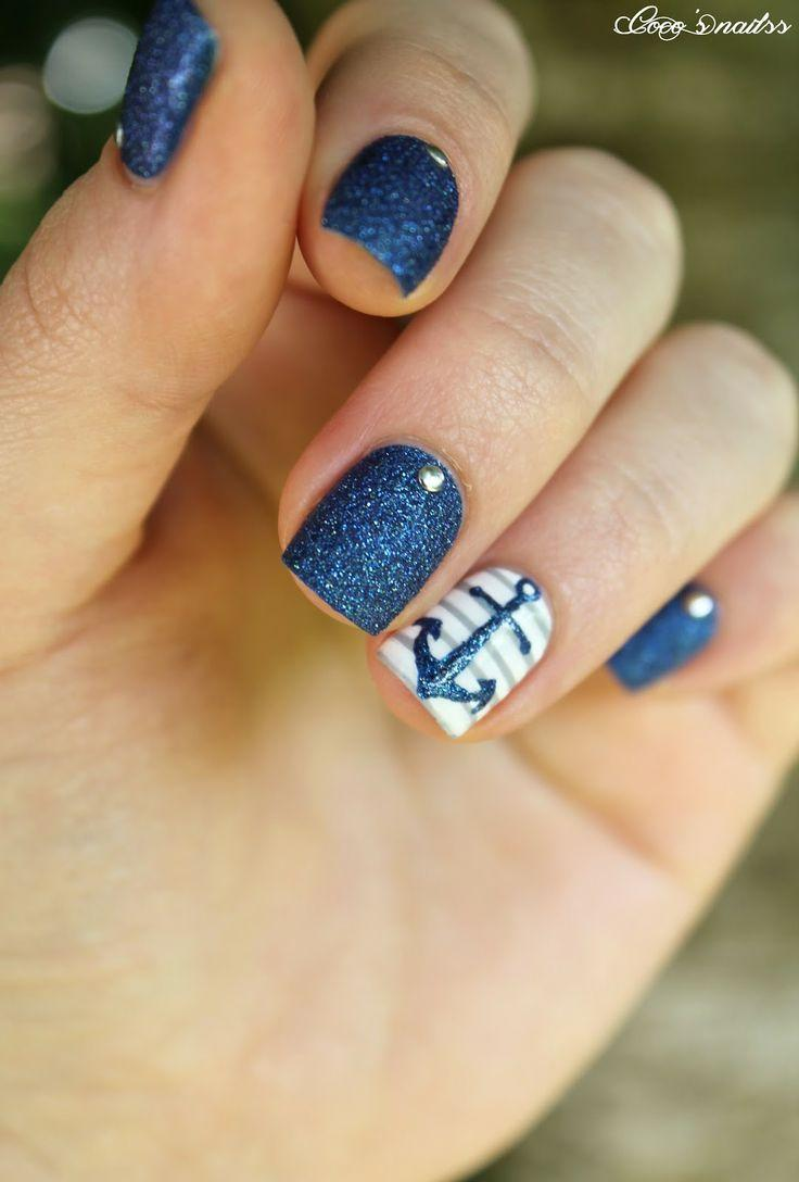 زفاف - Marine Themed Nails
