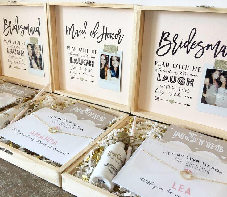 Wedding - Bridesmaid Boxes