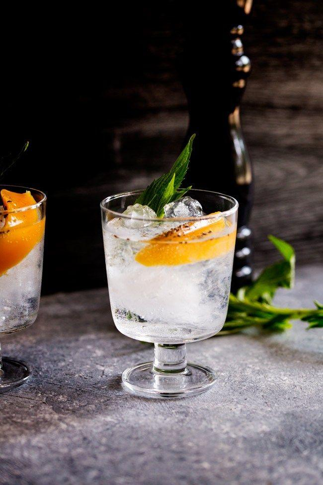 Düğün - Mango And Black Pepper Gin And Tonic