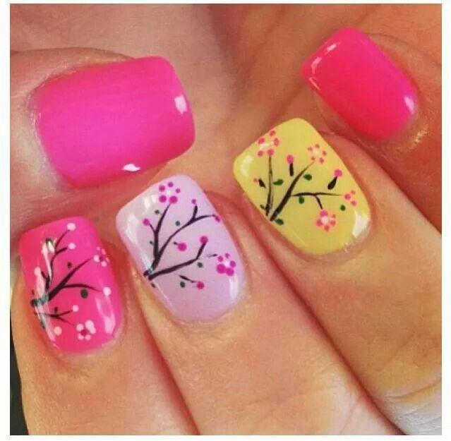 Wedding - 16 Spring Nail Designs For Women