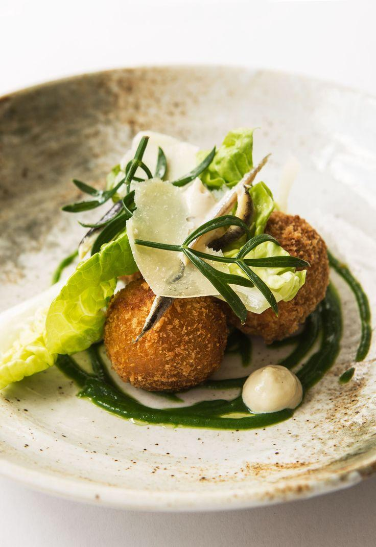 Wedding - Caesar Salad Croquettes