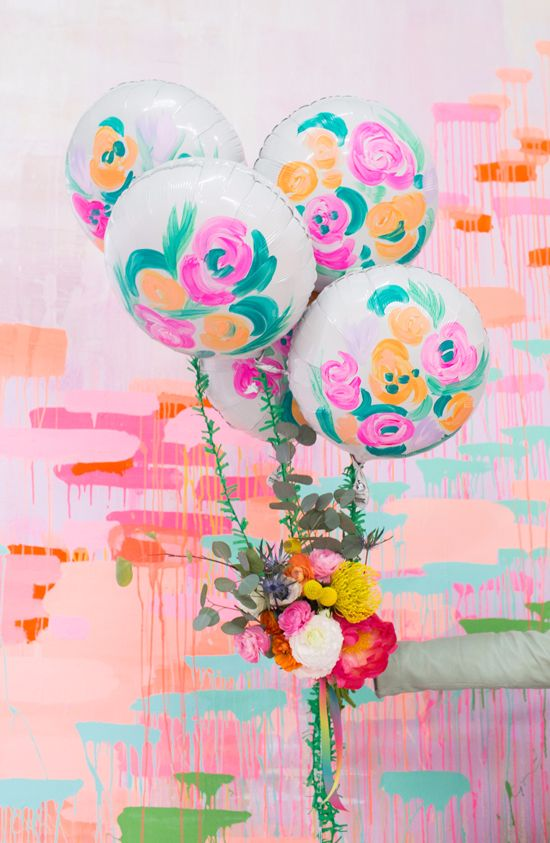 Mariage - A Balloon Bouquet For Mother's Day! (Oh Joy!)