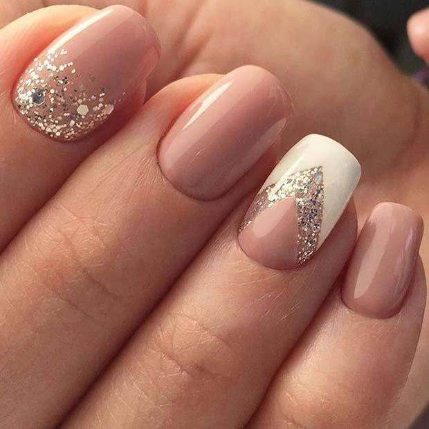 Düğün - 23 Elegant Nail Art Designs For Prom 2017