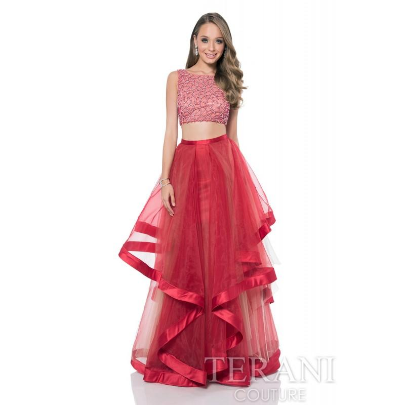 Свадьба - Terani Prom 2016 Style 1611P1369 -  Designer Wedding Dresses