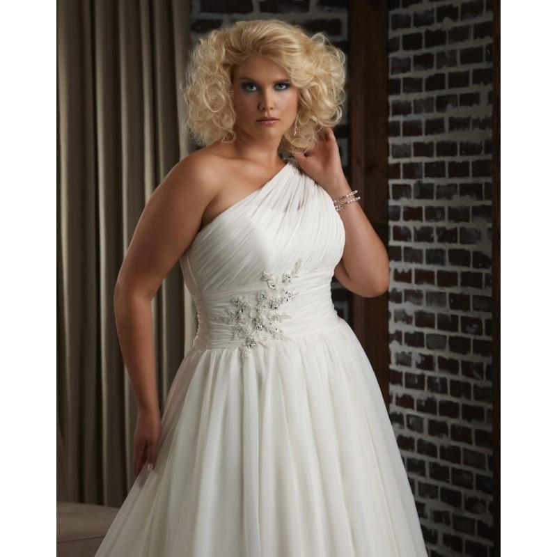Bonny Unforgettable 1313 Plus Size Wedding Dress Crazy Sale Bridal
