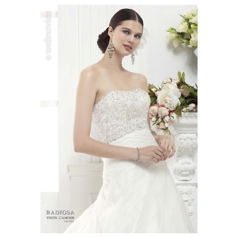 Mariage - Vestido de novia de Radiosa Modelo 8301 - Tienda nupcial con estilo del cordón