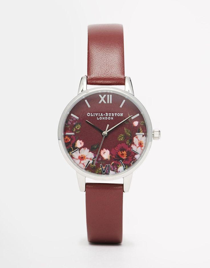 Свадьба - Olivia Burton Winter Garden Midi Watch At Asos.com
