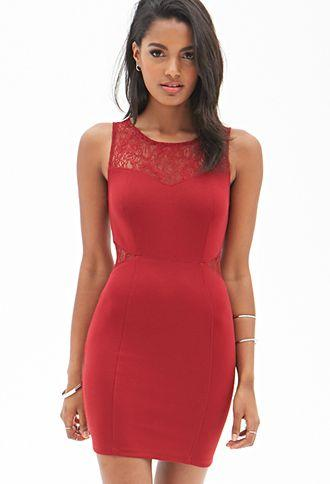 Wedding - Dynamite Lace Bodycon Dress