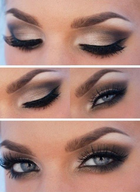 Hochzeit - 20 Amazing Makeup Tutorials For Blue Eyes