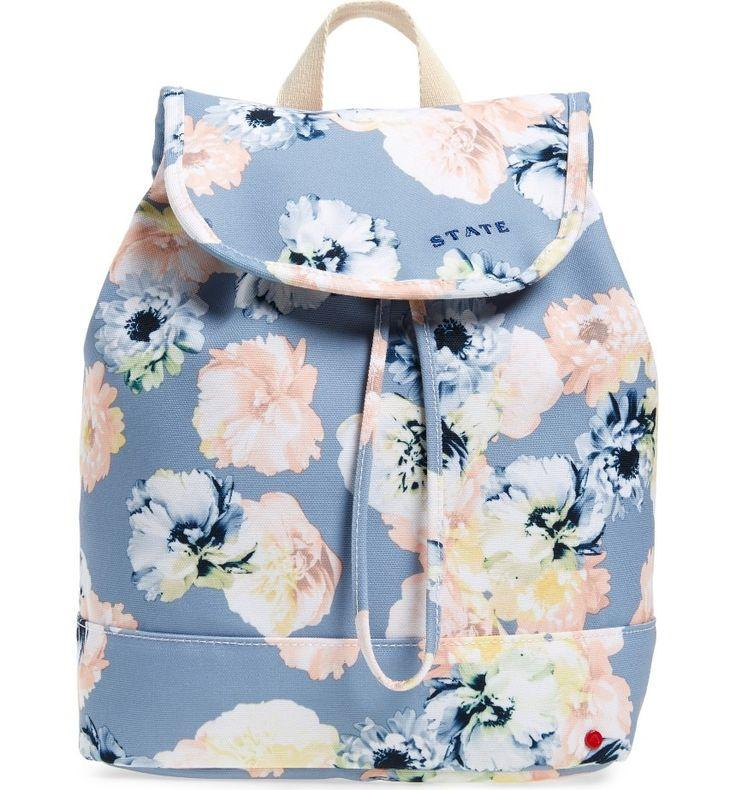 Mariage - Park Slope Floral Hattie Canvas Backpack
