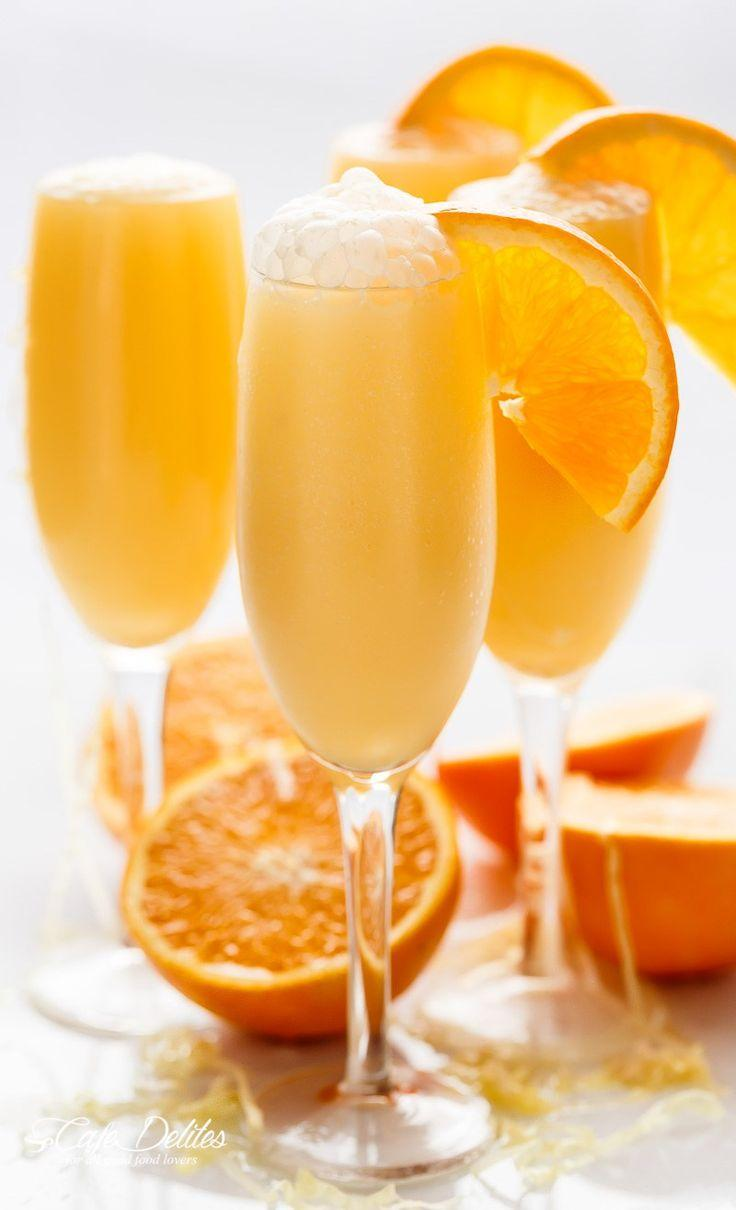 Düğün - Orange Creamsicle Mimosas