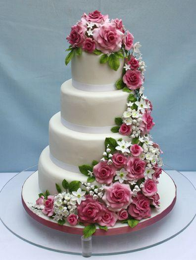 Wedding - Blush Pink Cake
