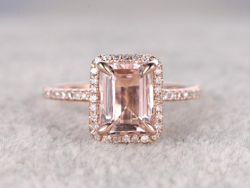 2e973ff2663a32 Rose Gold Gemstone Engagement Rings