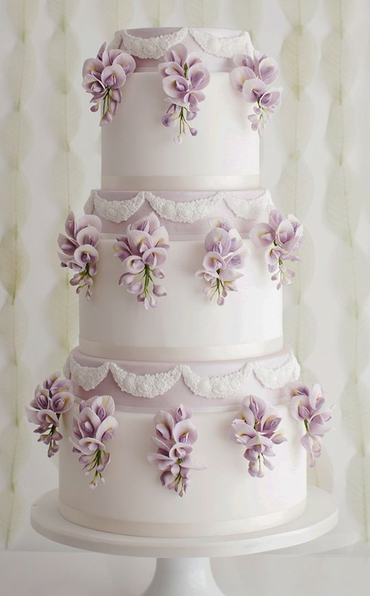 Wedding - Wedding Cake Inspiration - Sugar Ruffles