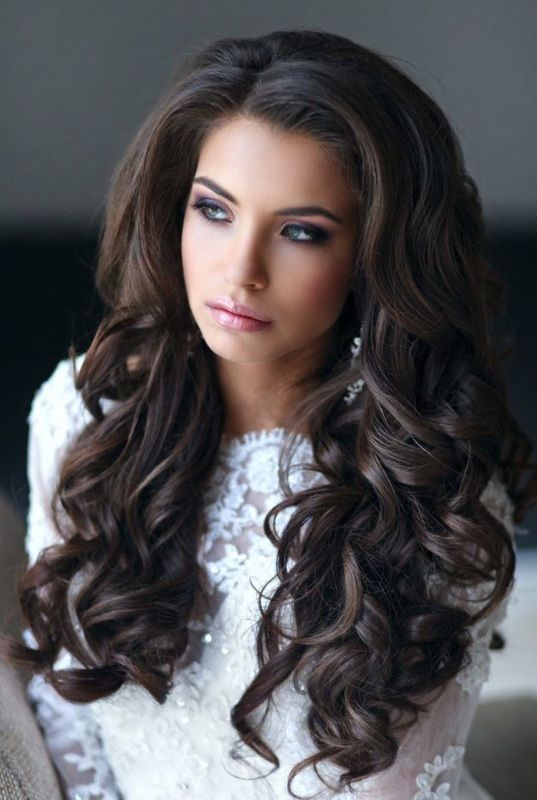 Wedding Hair Down | Haar Wedding Hairstyle Down In Curls 2719242 Weddbook