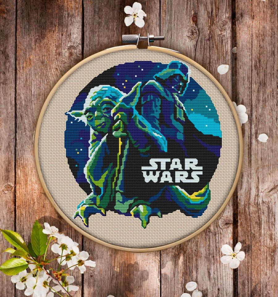 Hochzeit - Star Wars Cross Stitch Pattern for Instant Download - 061