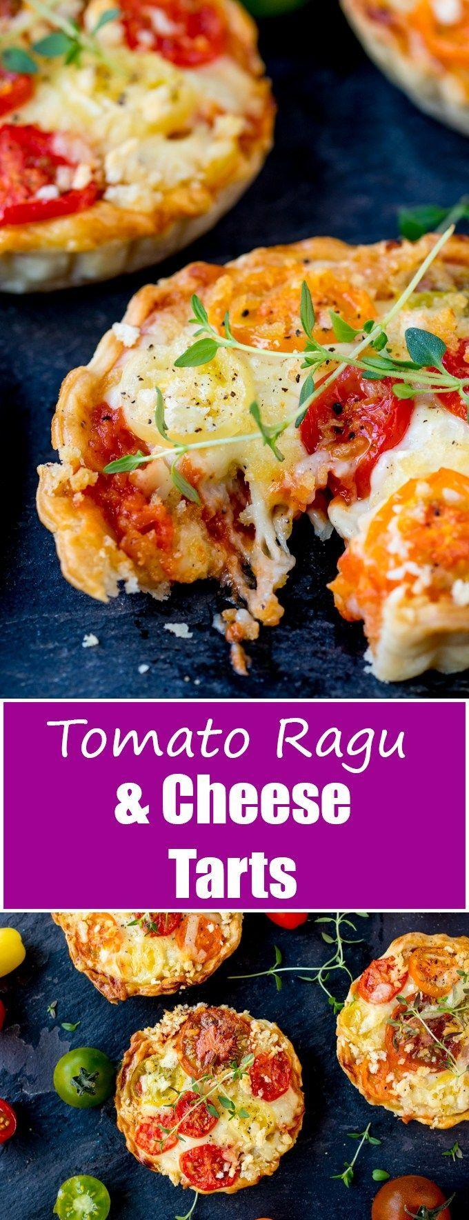 Mariage - Cheese And Tomato Tarts (Not Quiche!!)