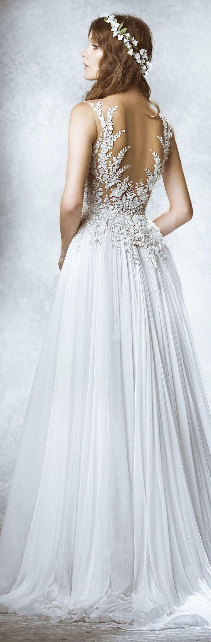 Mariage - Backless Wedding Dress