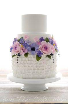 Mariage - Ben The Cake Man Wedding Cake Inspiration