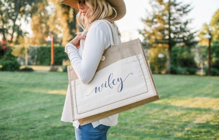 Mariage - wifey tote bag. Bride gift. wifey beach bag. Honeymoon beach bag. Bridal shower gift. Bachelorette party tote bags. Bachelorette beach bag