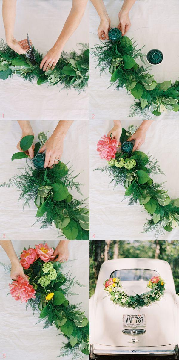 Свадьба - 40 Elegant Ways To Decorate Your Wedding With Floral Garlands