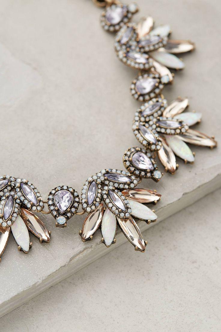 Свадьба - Lavande Bib Necklace