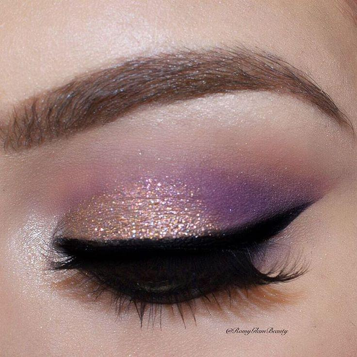 "Wedding -  Romina Michelle On Instagram: ""✨ I Can't Get Enough Of The New Makeup Geek Sparklers This One Is Satellite On The Lid ✨✨ @makeupgeekcosmetics Eyeshadows Creme Brulee,…"""