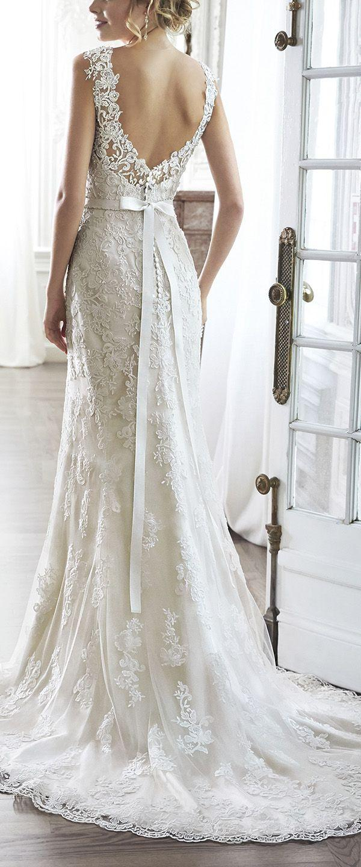 Свадьба - 20 Stunning Open & Low Back Wedding Dresses For 2017 Brides