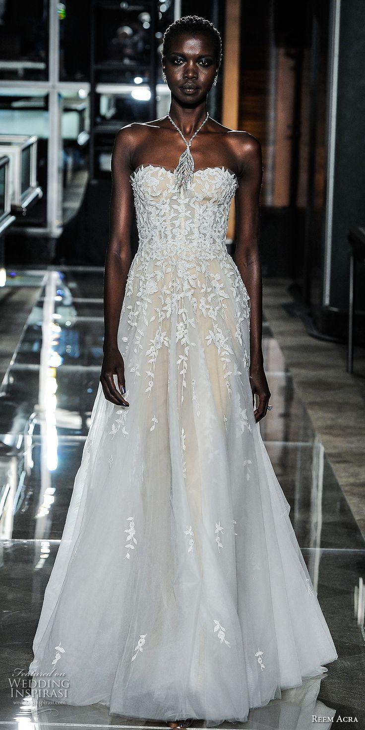 Reem Acra Spring 2018 Wedding Dresses New York Bridal Fashion Week