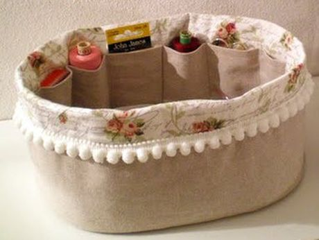 Wedding - Idee Di Chiara: Cestino Per Il Cucito - Sewing Basket