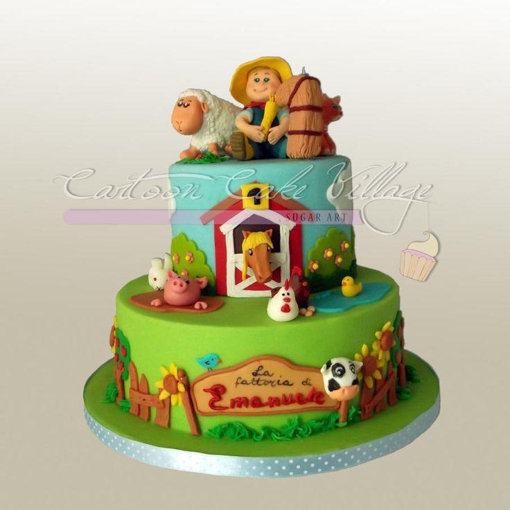 Wedding - Farm Cake - CakesDecor
