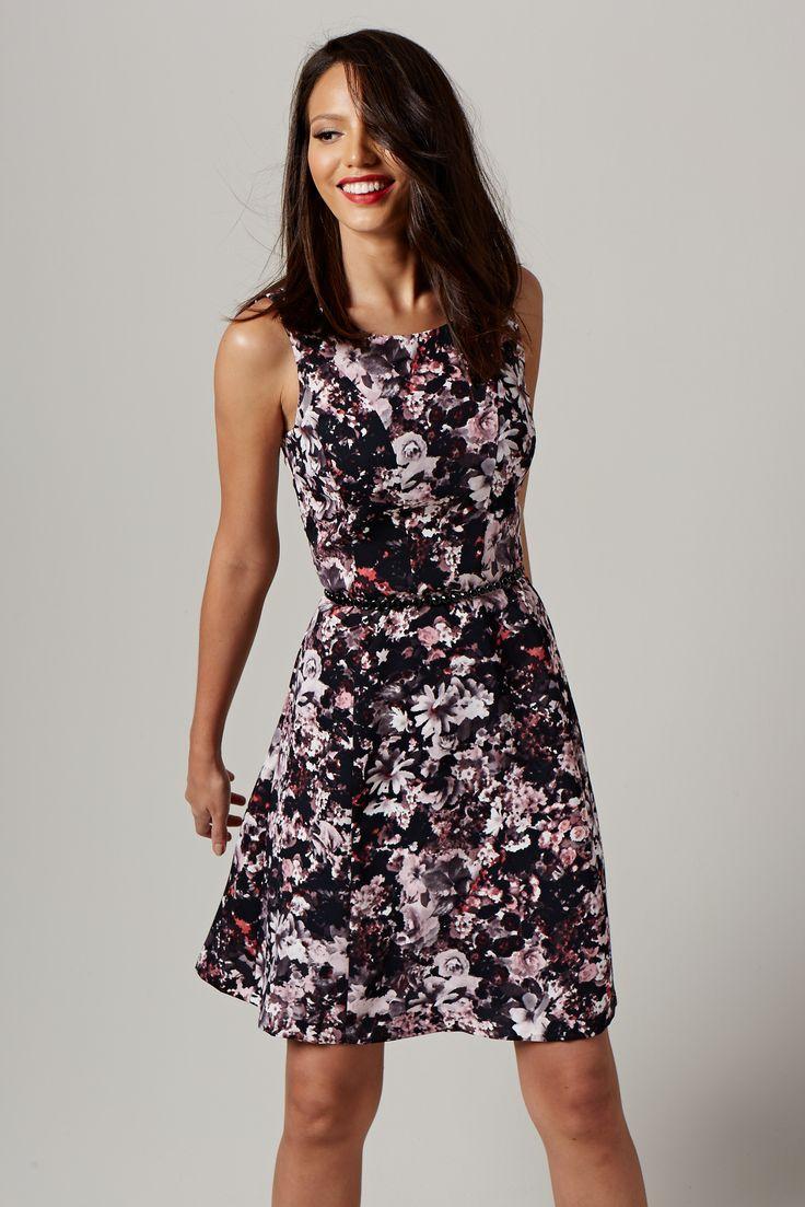 Свадьба - Floral Fit & Flare Dress