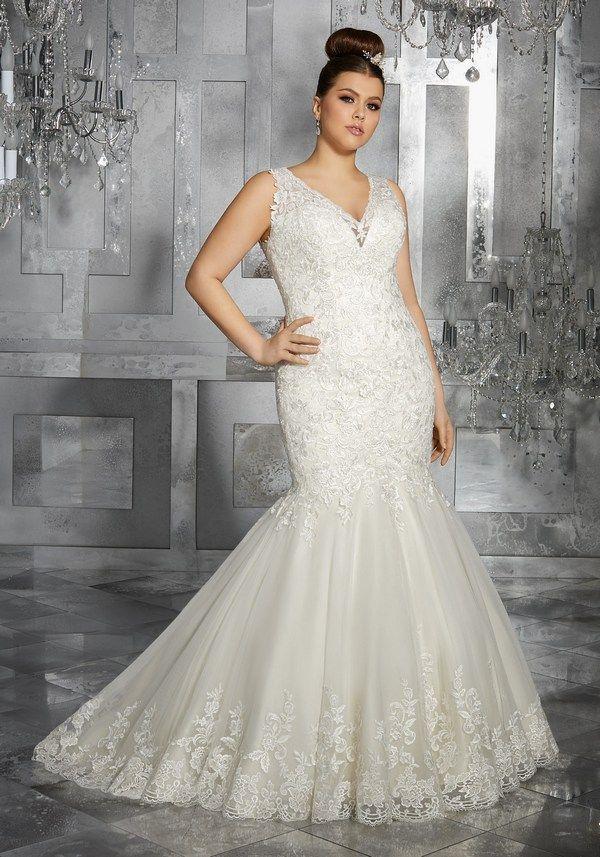 Свадьба - Mori Lee – Julietta Plus Size Wedding Dresses
