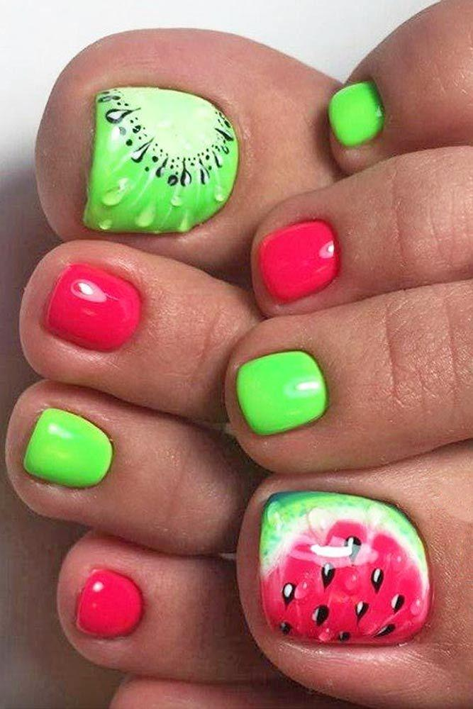 Mariage - 21 Pretty Toe Nail Designs For Your Beach Vacation