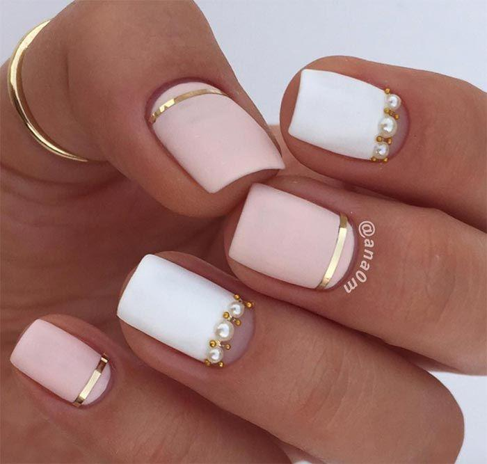 Wedding - 25  Nail Design Ideas For Short Nails