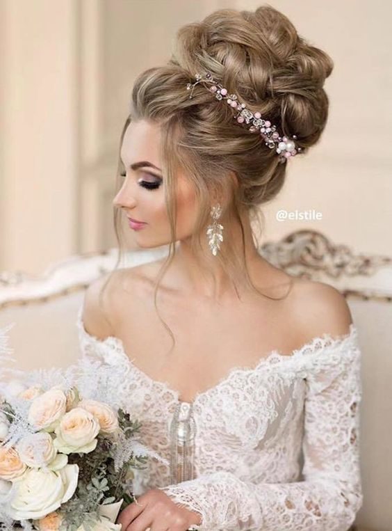 Düğün - Elstile Wedding Hairstyle Inspiration