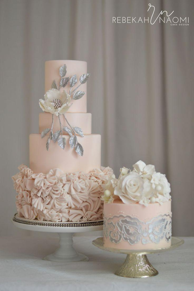 Wedding - Light Peach Cake
