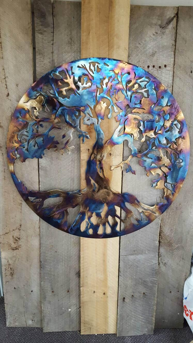 Wedding - Tree Of Life Wall Decor Art Hanging Home Rustic Primitive 14""