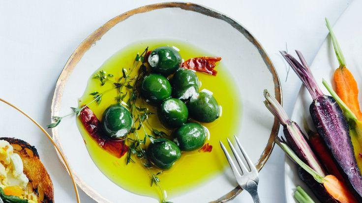 Wedding - Cheese-Stuffed Olives